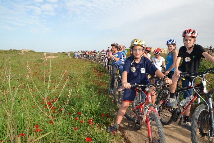 טיול אופניים למשפחה